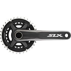 Shimano SLX MTB FC-M7000 Kurbelgarnitur 2x11-fach 34-24 Zähne Schwarz